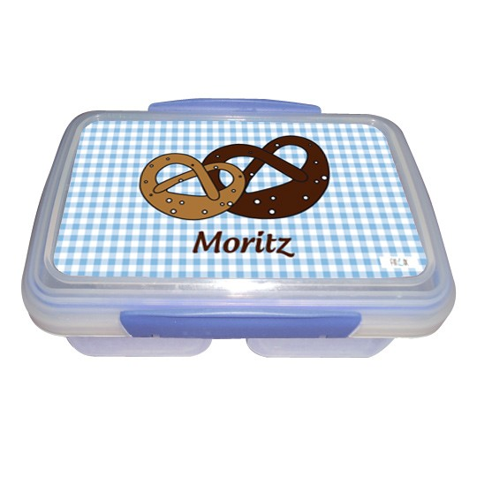 Brotdose Brezel mit Namen - Kollektion Wiesn